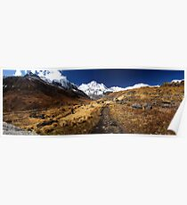 Annapurna South, Himalaya, Nepal. Poster