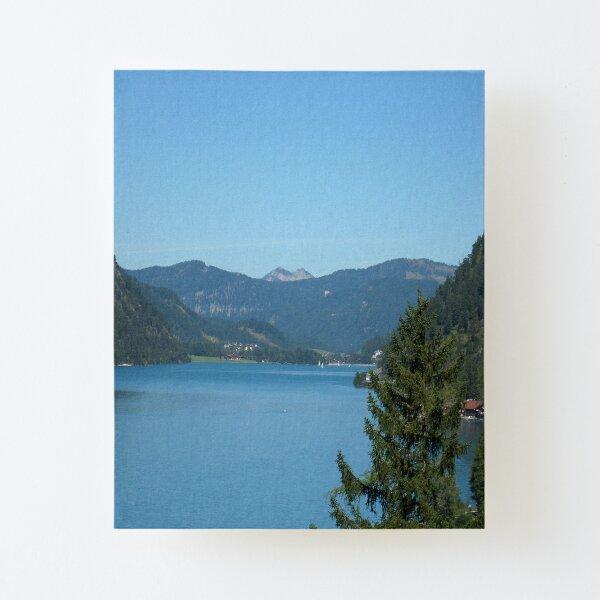 Achen Lake Canvas Mounted Print