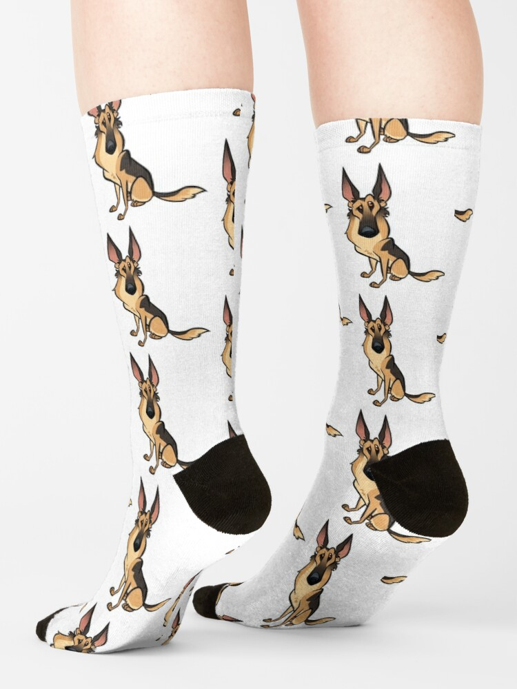 Alternate view of German Shepherd Socks