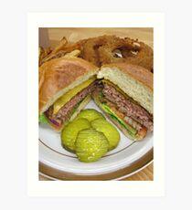 Richie's Burger Joint Art Print