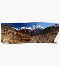 Machhupuchhare, Annapurna, Nepal. Poster