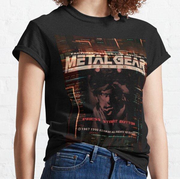 Press Start Button (Metal Gear Solid, PlayStation) Classic T-Shirt