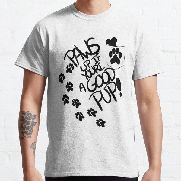 Pfoten hoch Classic T-Shirt