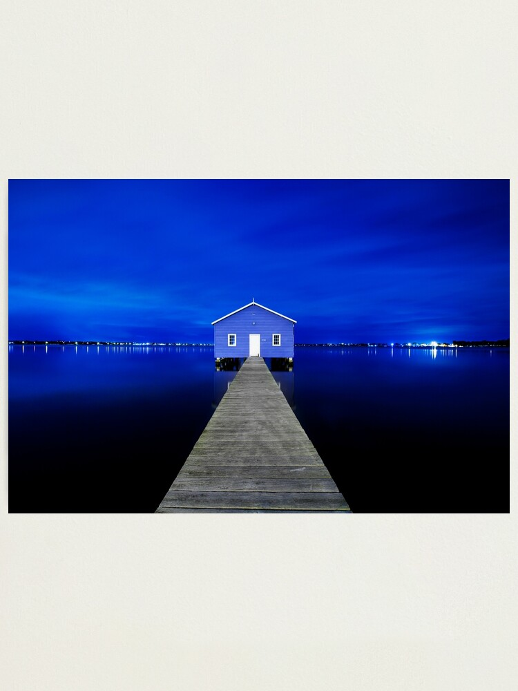 Alternate view of Crawley Edge Boatshed Photographic Print