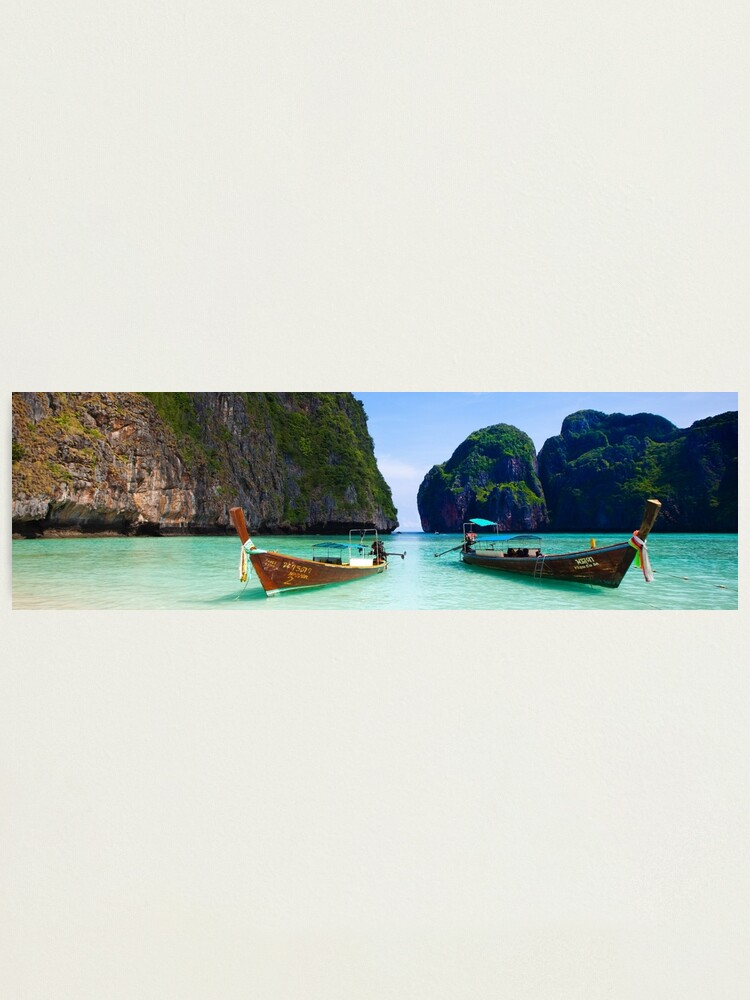 Alternate view of Phi Phi Island Panoramic Photographic Print