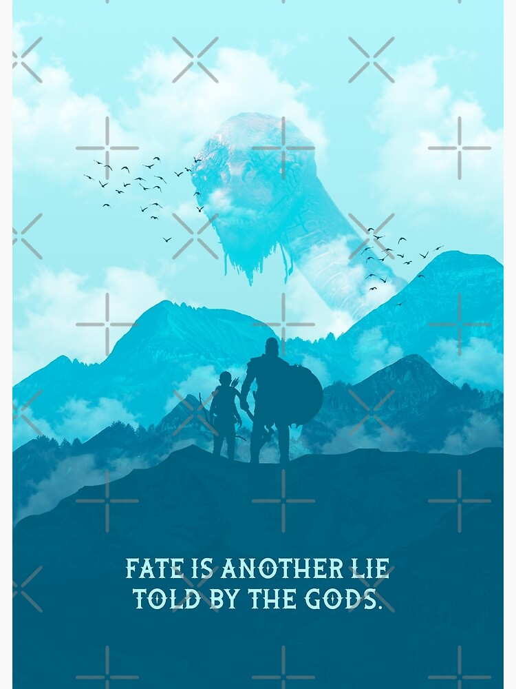 Fate Is Another Lie Told by the Gods by gegdesign