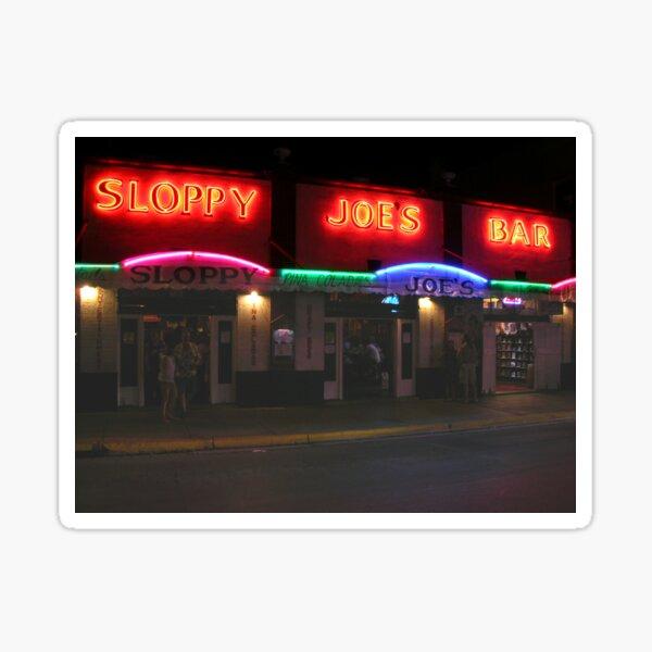 Sloppy Joe's  Sticker