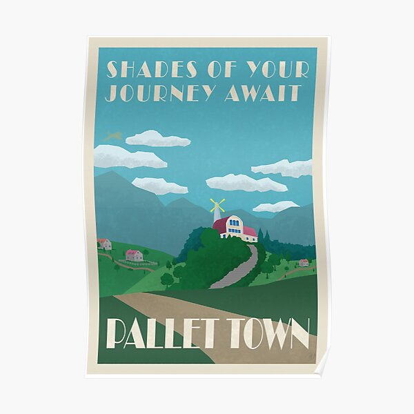 Pallet Town Poster