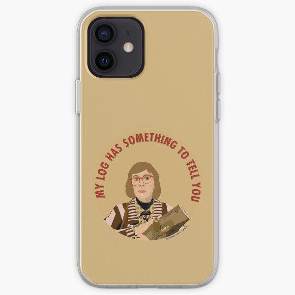 Twin Peaks Log Lady iPhone Soft Case
