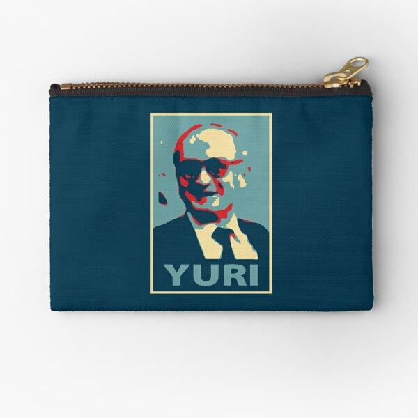 Yuri Bezmenov HOPE style Soviet journalist KGB defector anti-communism Retro HD High Quality Online Store Zipper Pouch