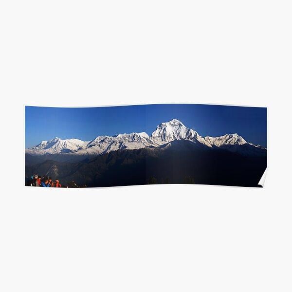 Dhauligiri Himal, Nepal. Poster