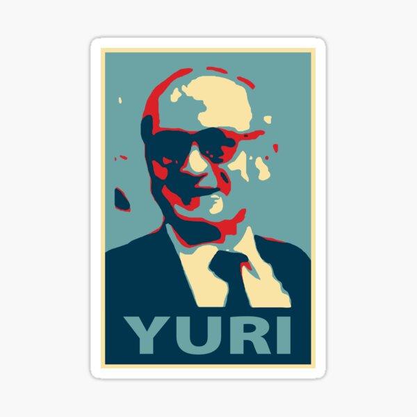 Yuri Bezmenov HOPE style Soviet journalist KGB defector anti-communism Retro HD High Quality Online Store Sticker