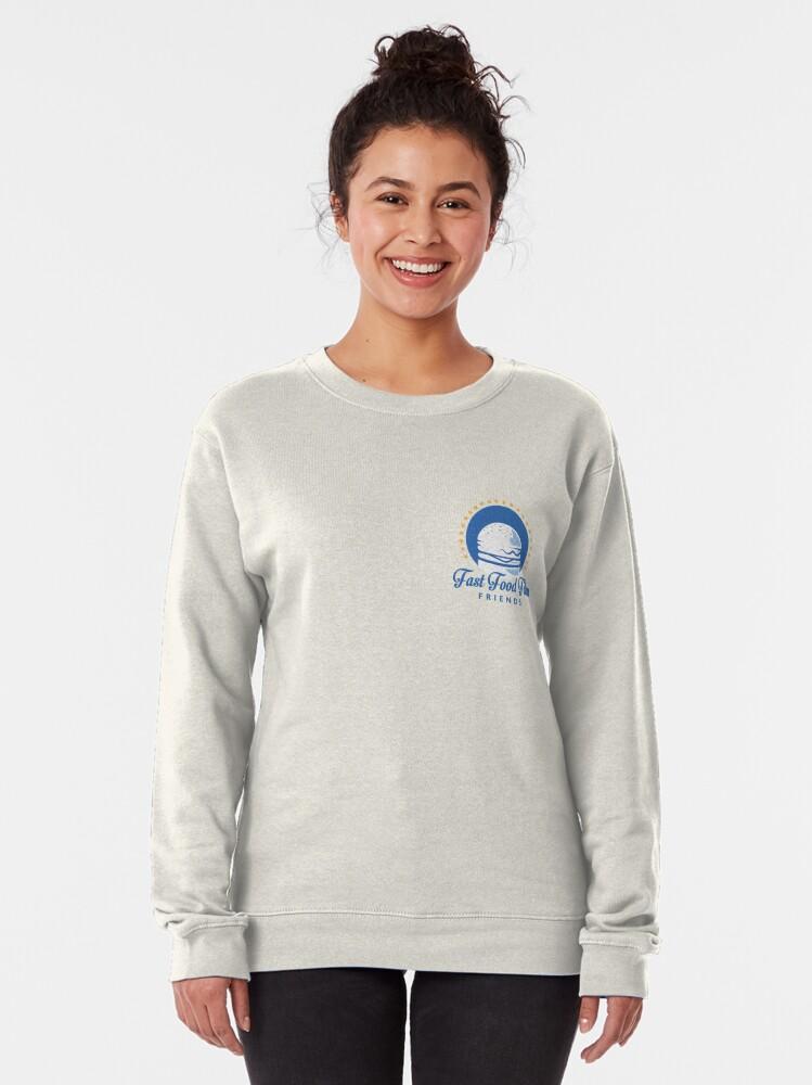 Alternate view of Fast Food Film Friends | Logo Pullover Sweatshirt