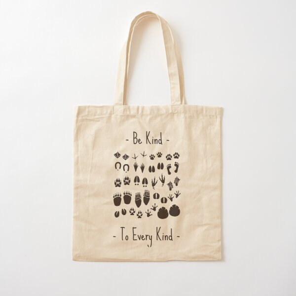 Vegan be kind to every kind Cotton Tote Bag