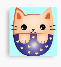 Cute kitty Canvas Print