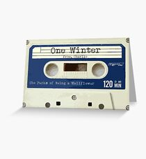 One Winter from Charlie Greeting Card