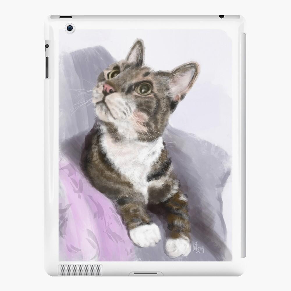 Kitty Sitting Pretty  iPad Case & Skin