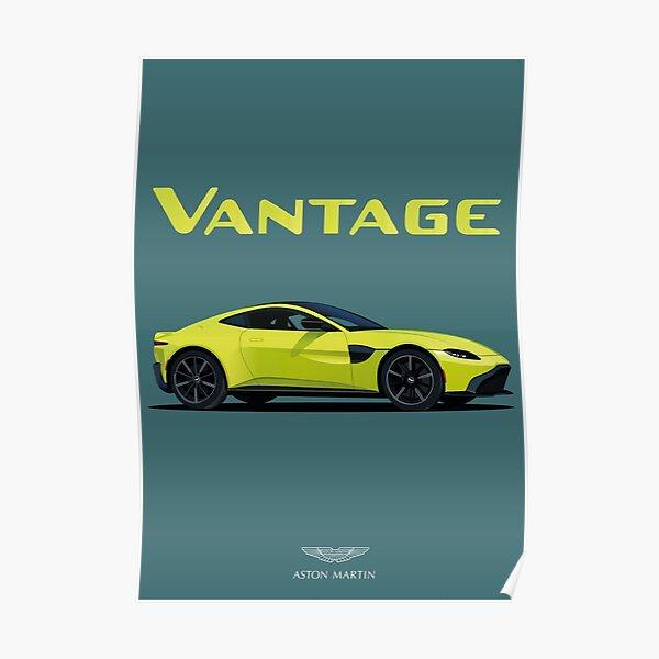 Oeuvre d'Aston Martin Vantage Poster
