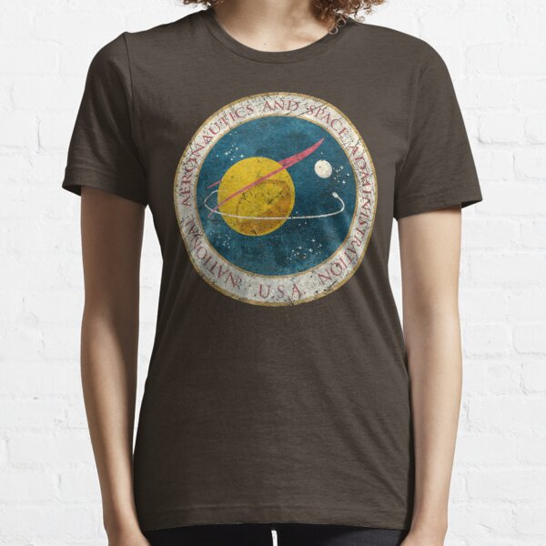 NASA Vintage Seal Essential T-Shirt