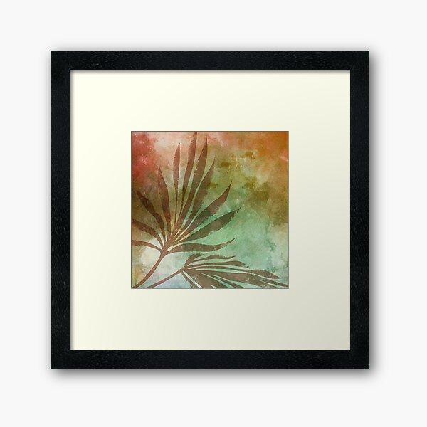 Tropical Leaves - 1 Framed Art Print