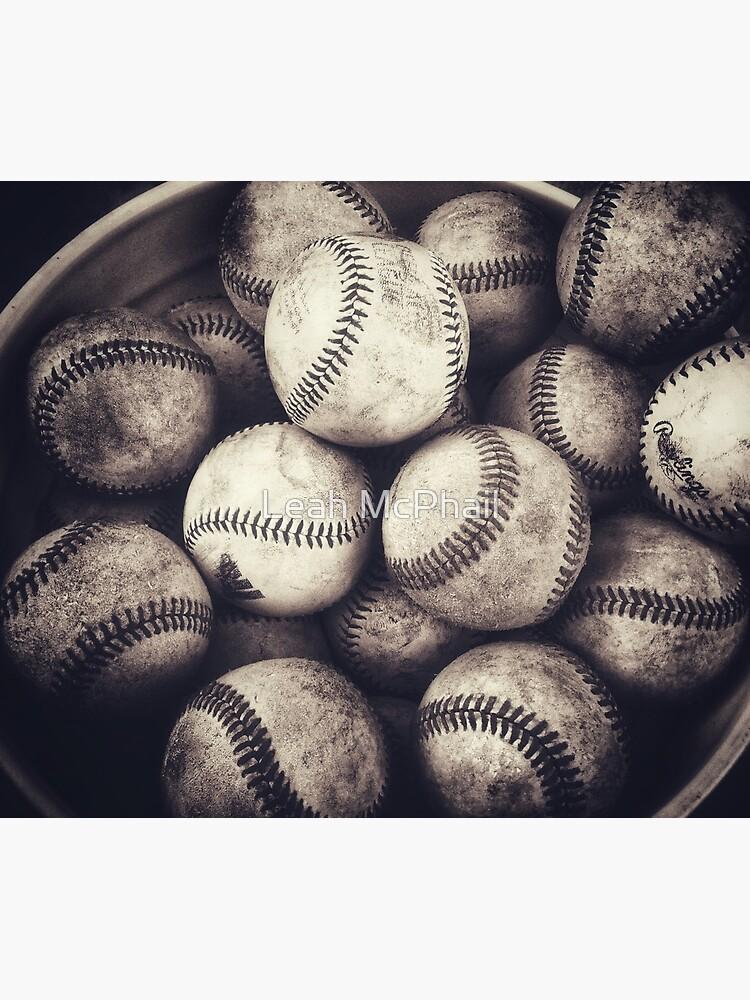 Bucket of Baseballs  by LeahMcPhail