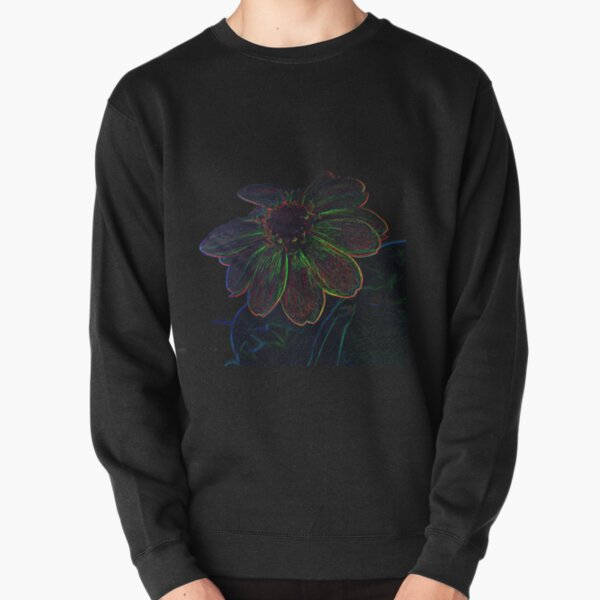 Space Flower Power Pullover Sweatshirt