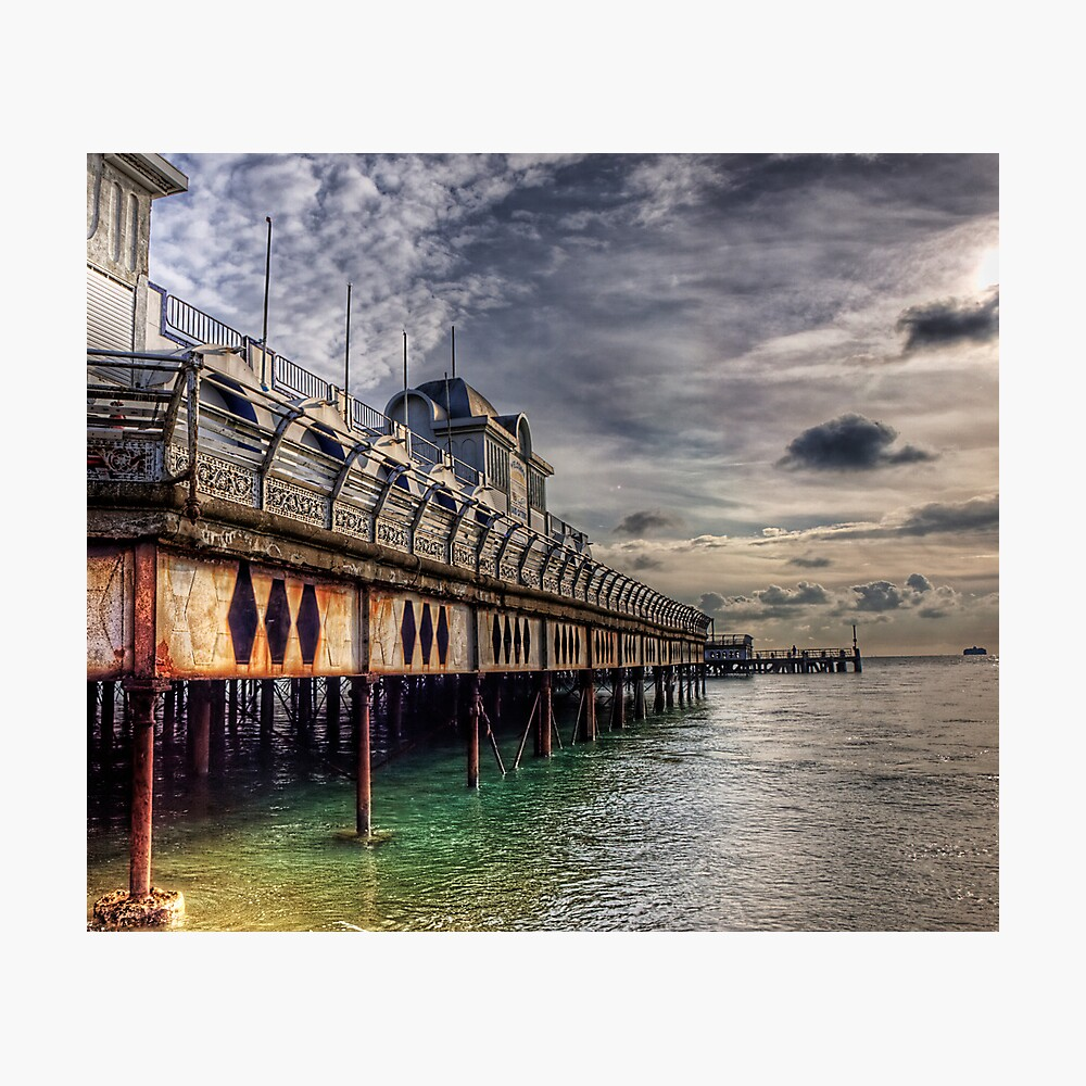 South Parade Pier Portsmouth  Photographic Print