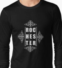 Show some love for Rochester with this design Long Sleeve T-Shirt