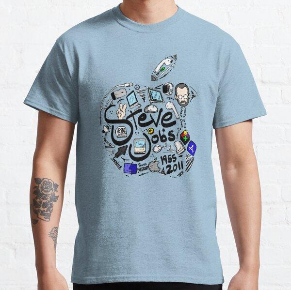 Steve Jobs Tribute 2.0 Color Version Classic T-Shirt