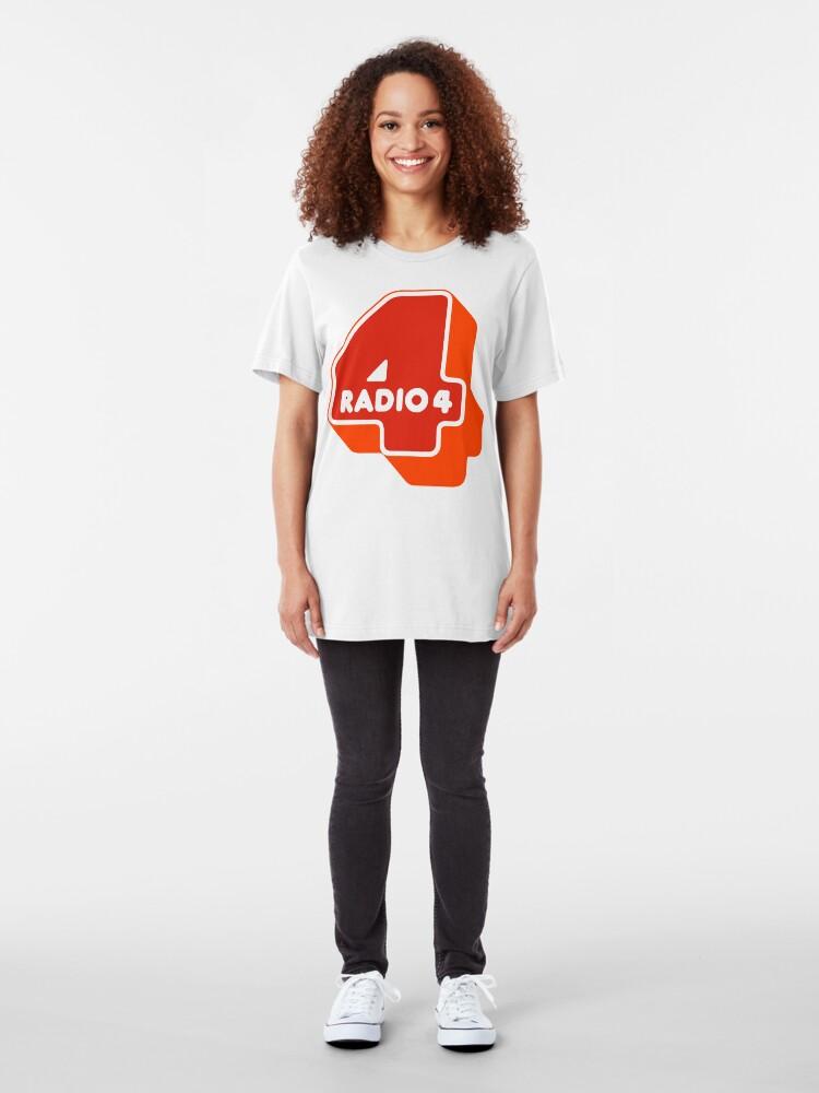 Alternate view of NDVH Radio 4 Slim Fit T-Shirt