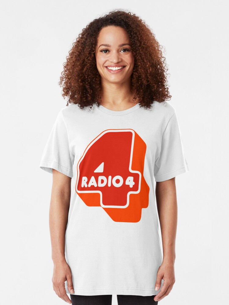 Alternate view of NDVH Radio 4 Slim Fit T-Shirt