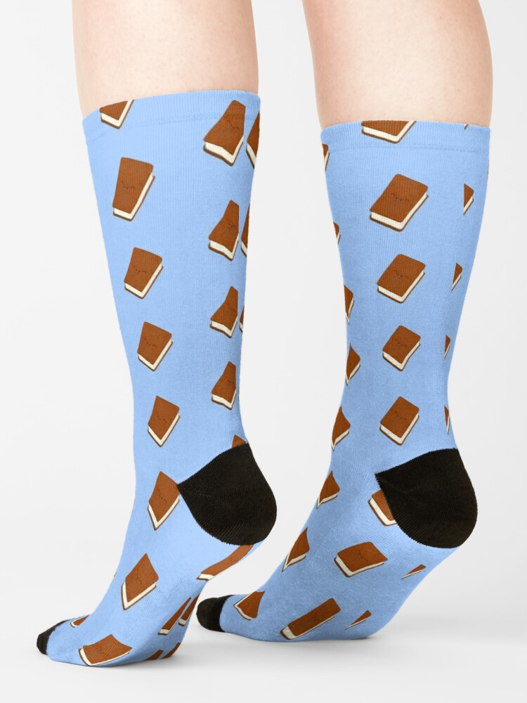 Alternate view of Cute Ice Cream Sandwich Socks