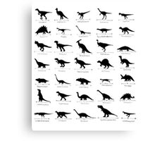 Whats Your Favourite Dinosaur? Canvas Print