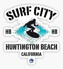 Surf City - Huntington Beach Sticker