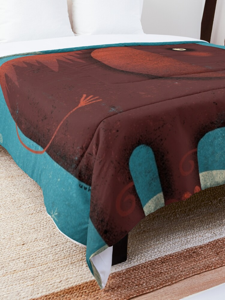 Alternate view of WOOLY FRIEND Comforter