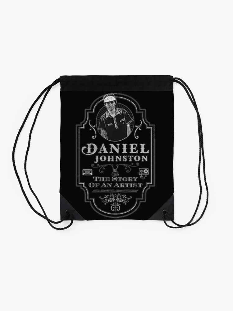 Alternate view of Daniel Johnston: Story Of An Artist Tribute Drawstring Bag