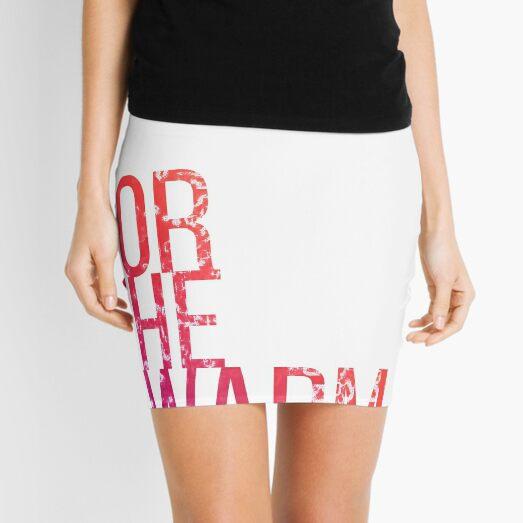 For the Swarm Mini Skirt