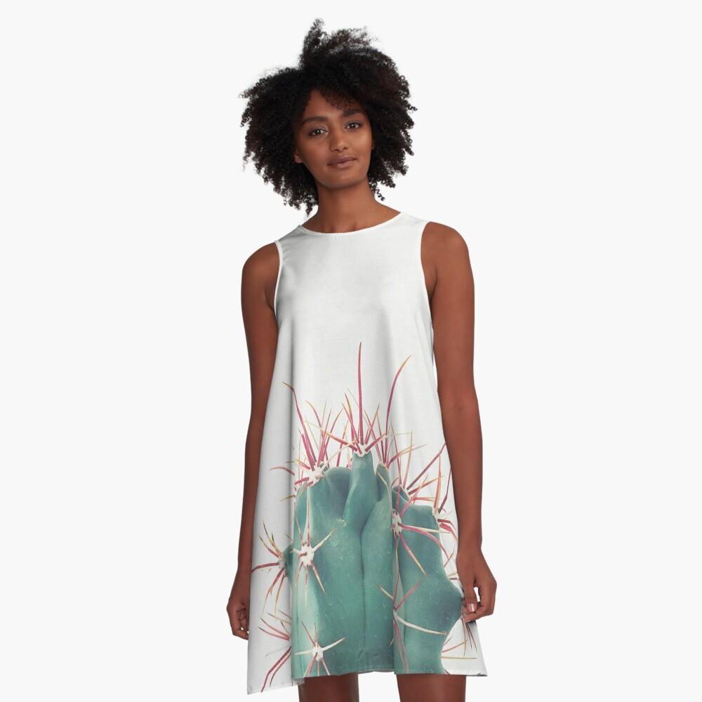 Ferocactus A-Line Dress