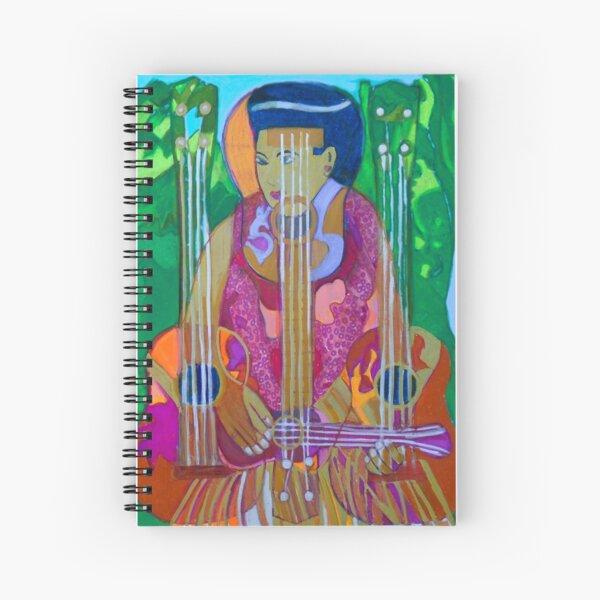 Ukulele: Four Strings  Spiral Notebook