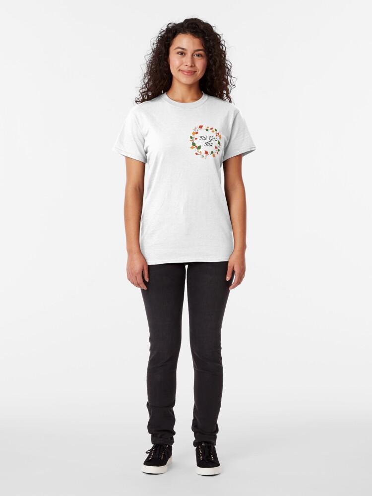 Alternate view of Fat Girl Fall Classic T-Shirt