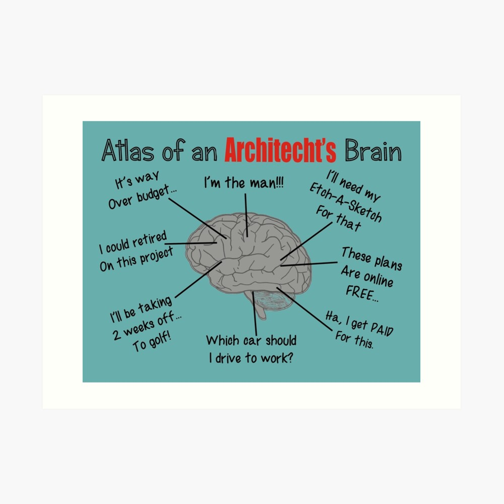 Architect Humor Art Print