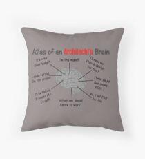 Architect Humor Throw Pillow