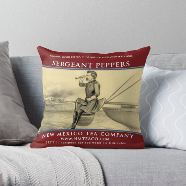 Sergeant Peppers Throw Pillow