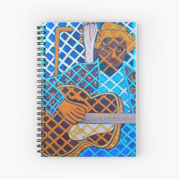 Blues Guitar: Nine Strings Spiral Notebook