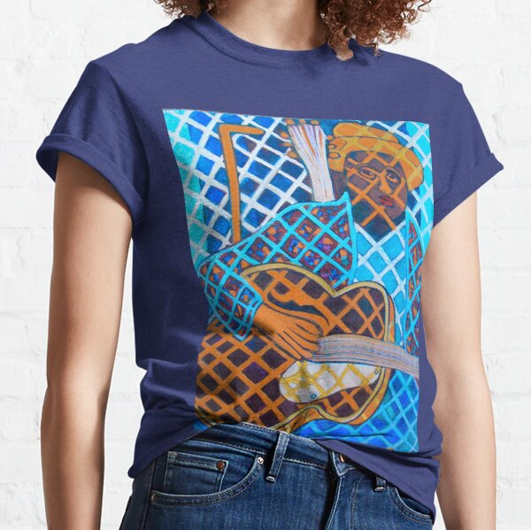 Blues Guitar: Nine Strings Classic T-Shirt