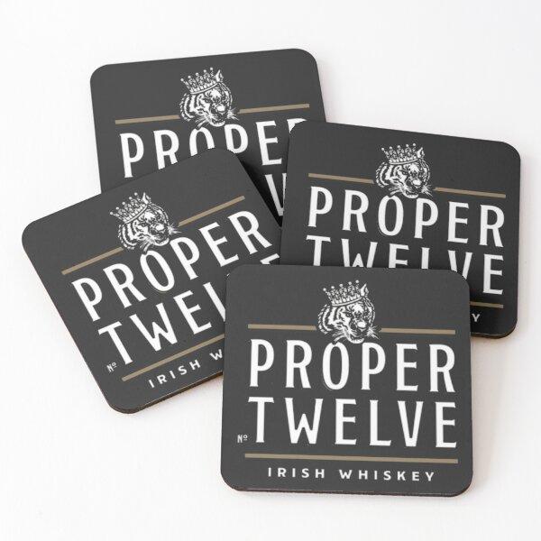 Proper 12 Proper Twelve Irish Whiskey Coasters (Set of 4)