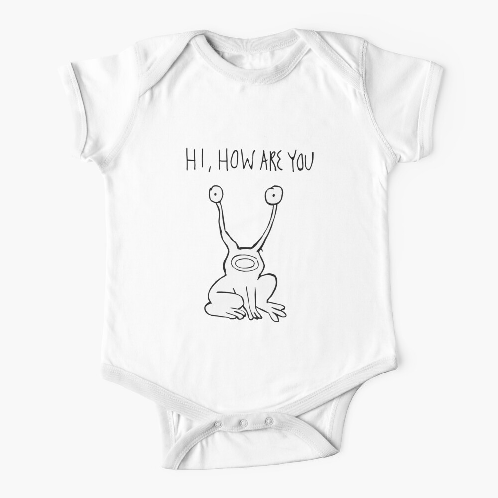 Hi How Are You| Daniel Johnston Baby One-Piece