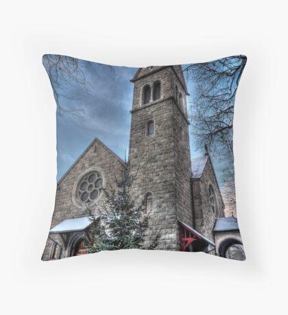 Downtown Deities Throw Pillow