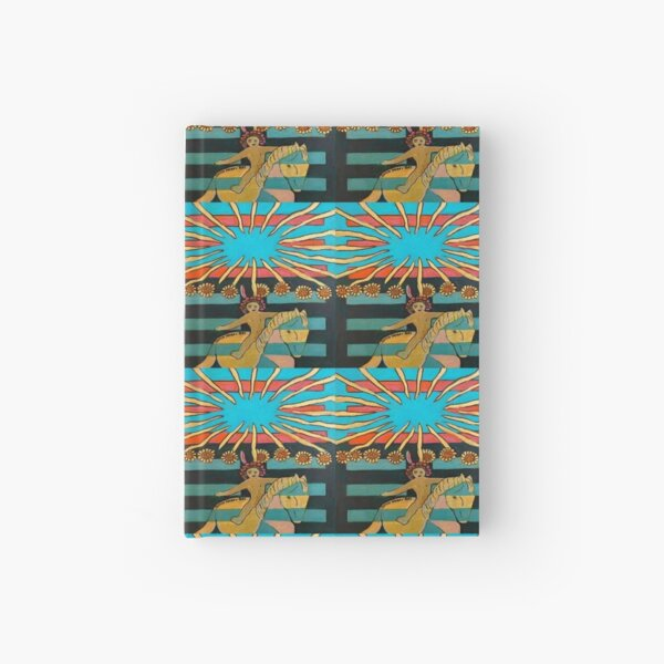 Hexagram 35: Jìn (Rising)  Hardcover Journal