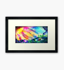 "The Wind Rises - ""Just like the Wind"" Framed Print"